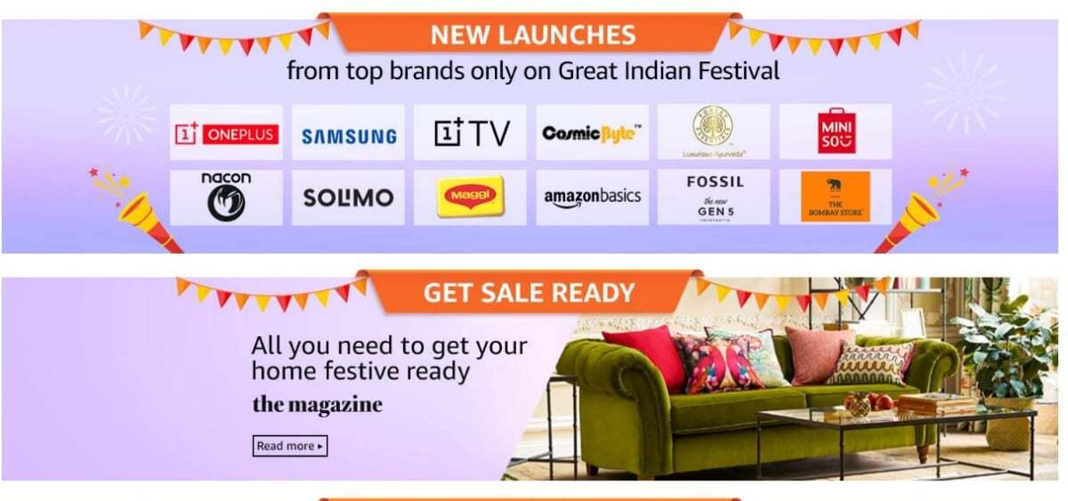 OnePlus TV zum Verkauf während Amazon Großes Indianerfest, verrät der Teaser 1