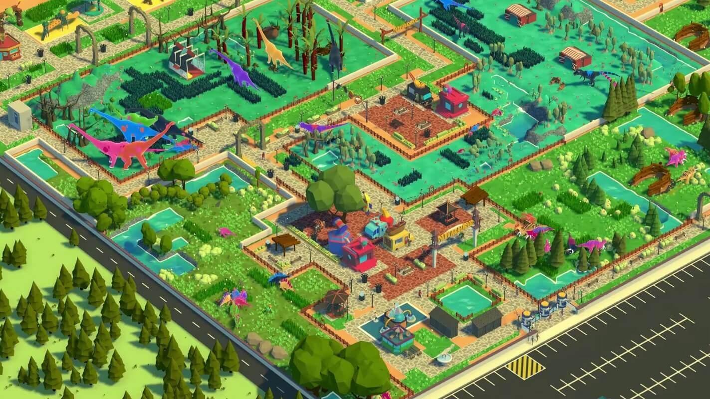 Parkasaurus ist ein Tycoon-Spiel zum Aufbau des perfekten Dinosaurier-Zoos - PAX West 2019 1