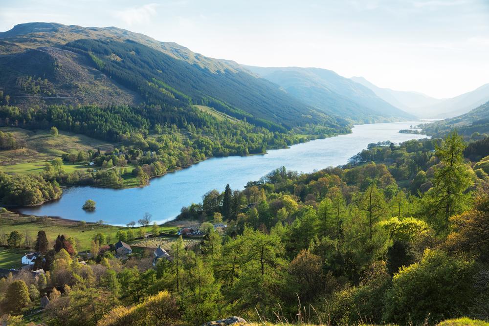 Remote-Community in Schottland, um das schnellste Breitband in Großbritannien zu erhalten 1