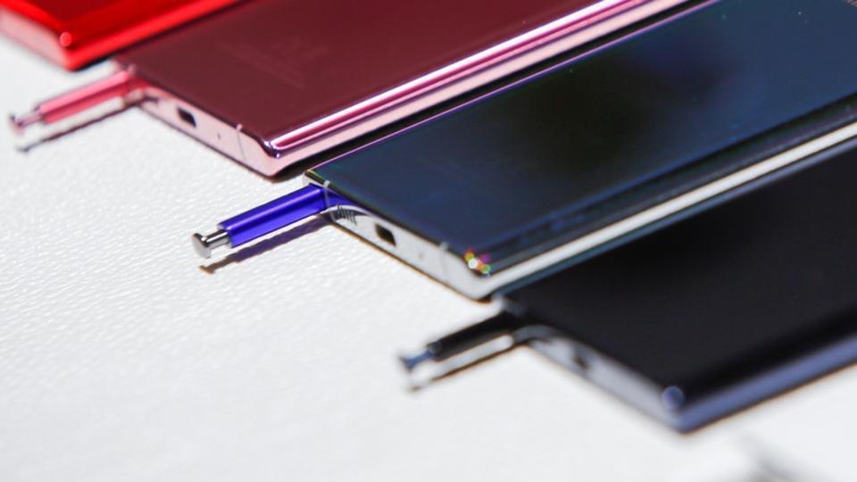 Samsung unveils Note 10, Note 10+