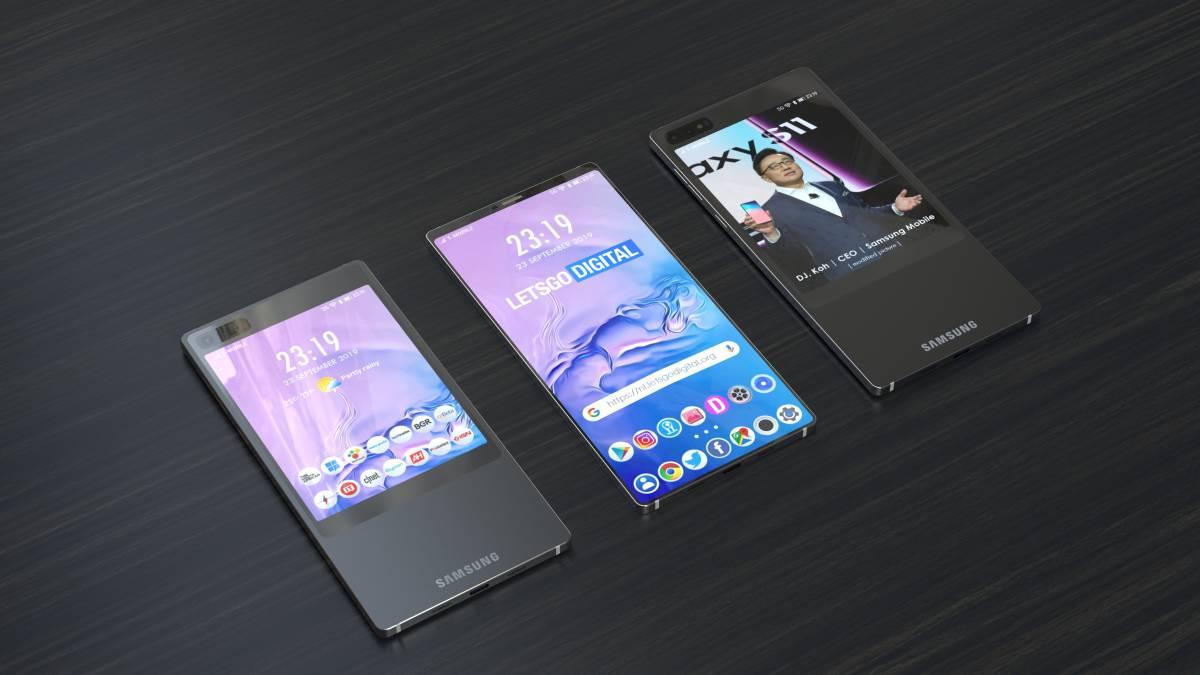 Samsungs erste Gerüchte Galaxy S11: Doppelbildschirm 1