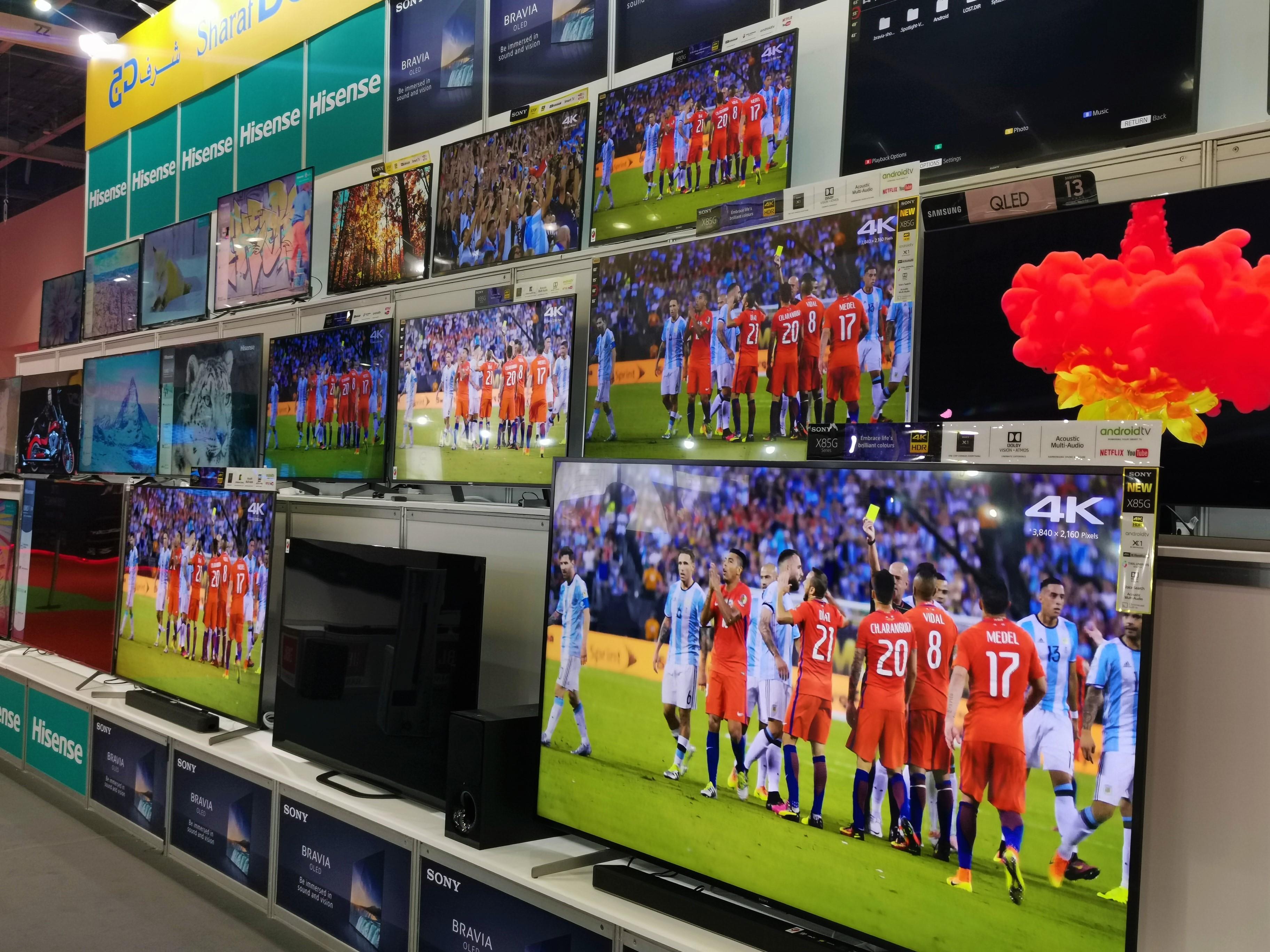 Second-Hand-TV-Verkäufe sind riesig und wachsen schneller als in den Vereinigten Arabischen Emiraten 1