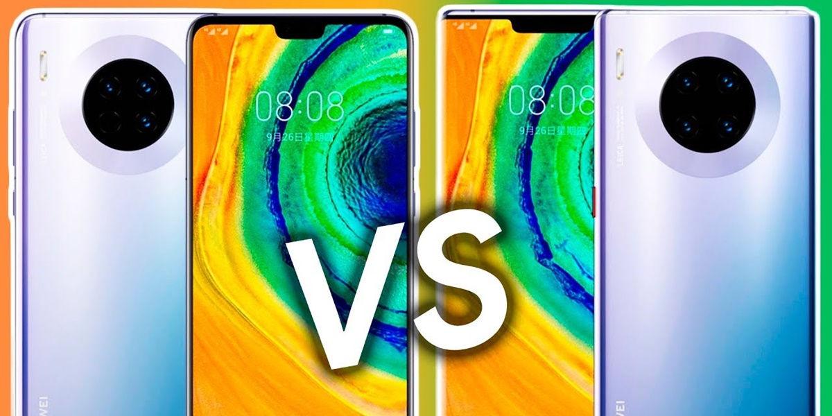 Huawei Mate 30 gegen Huawei Mate 30 Pro