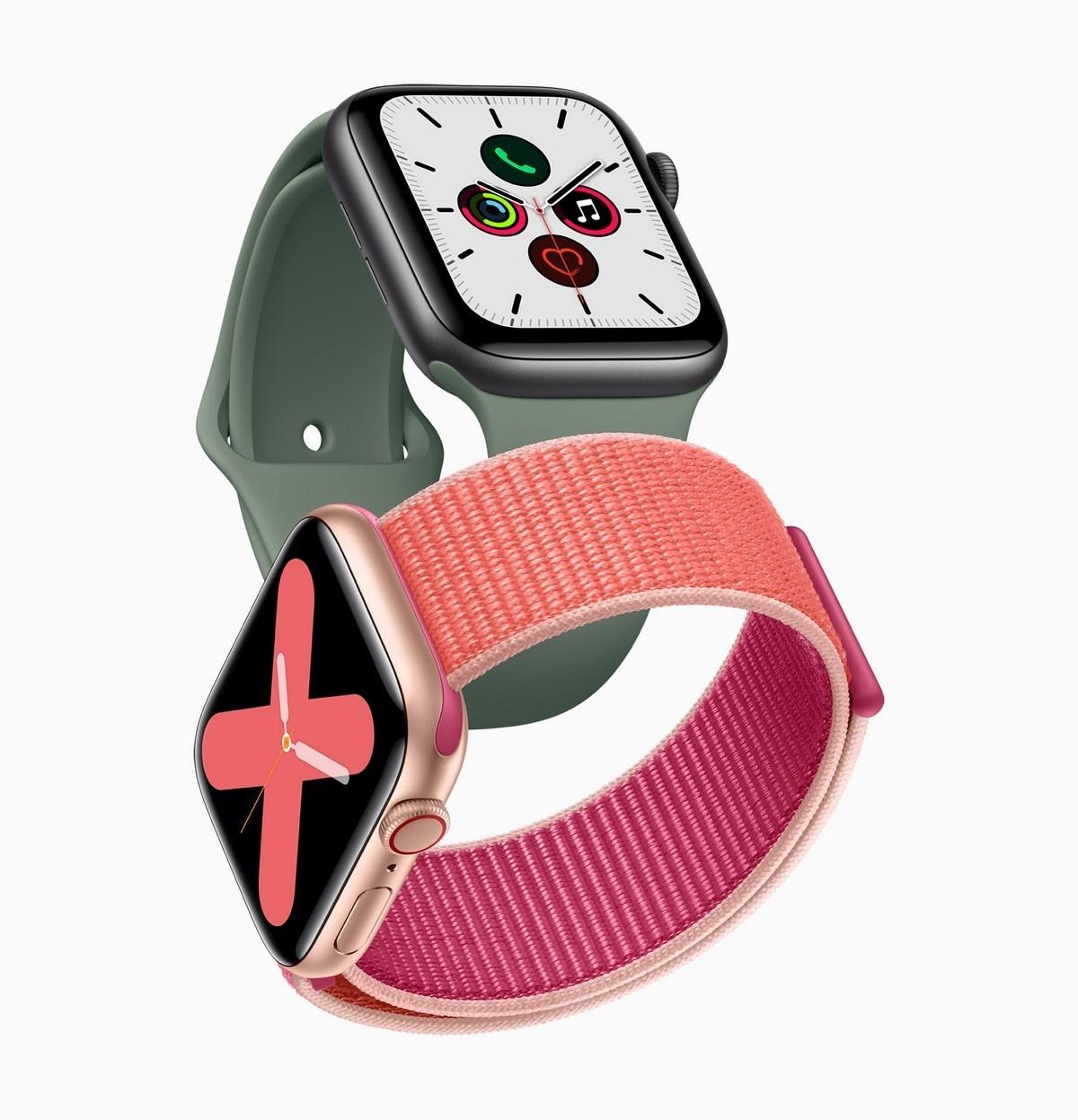 Treffen AppleNeueste Wearable, The Apple Watch Serie 5