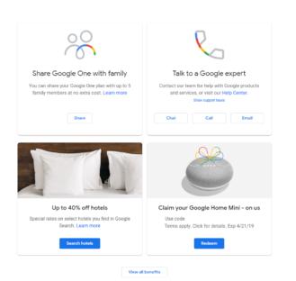 [Update: More countries] Google bietet kostenlose Home Mini to One-Abonnenten in den USA und Kanada an 2