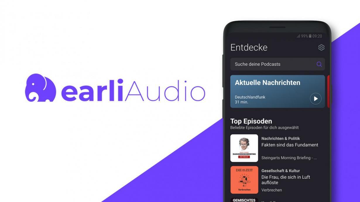 Upday erstellt earliAudio- und earliNews-Apps