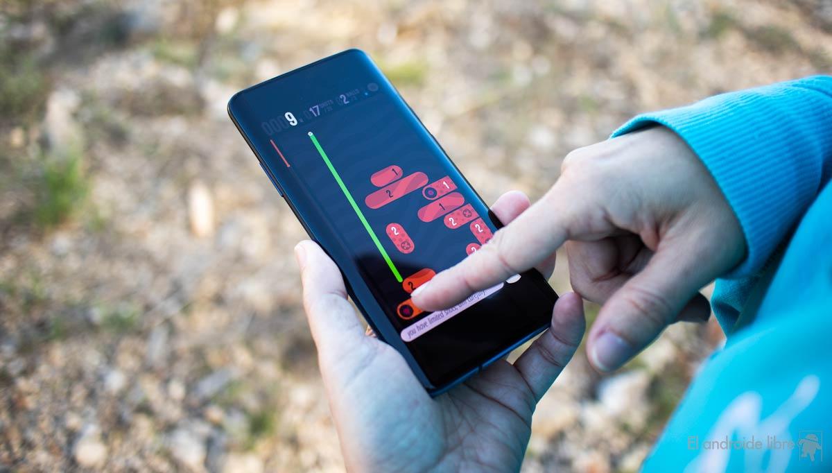 Genießen Sie den OnePlus 7 Pro-Bildschirm, der am wenigsten verbraucht