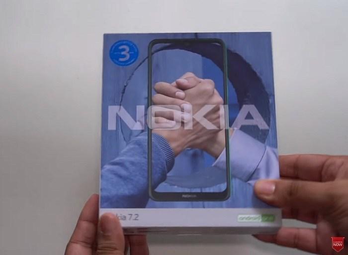 Video: Unboxing von Nokia 7.2 1