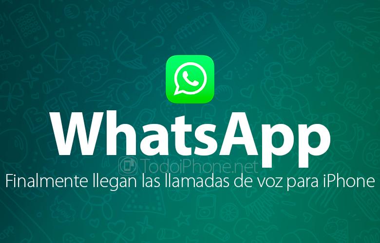 WhatsApp für iPhone unterstützt jetzt auch VoIP-Anrufe 1