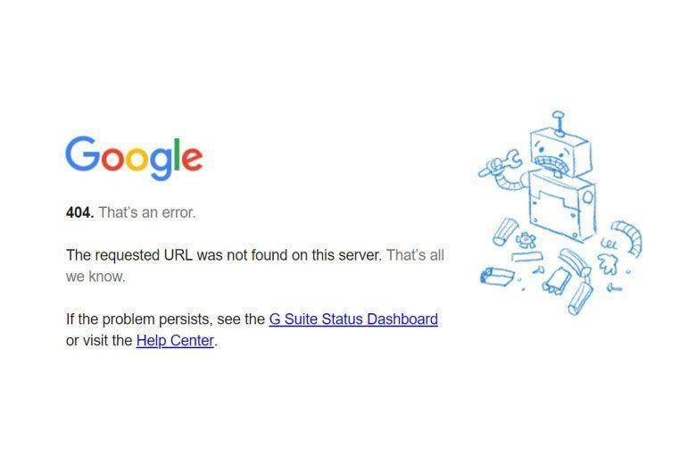 Oft ist eine Webseite ausgefallen oder instabil