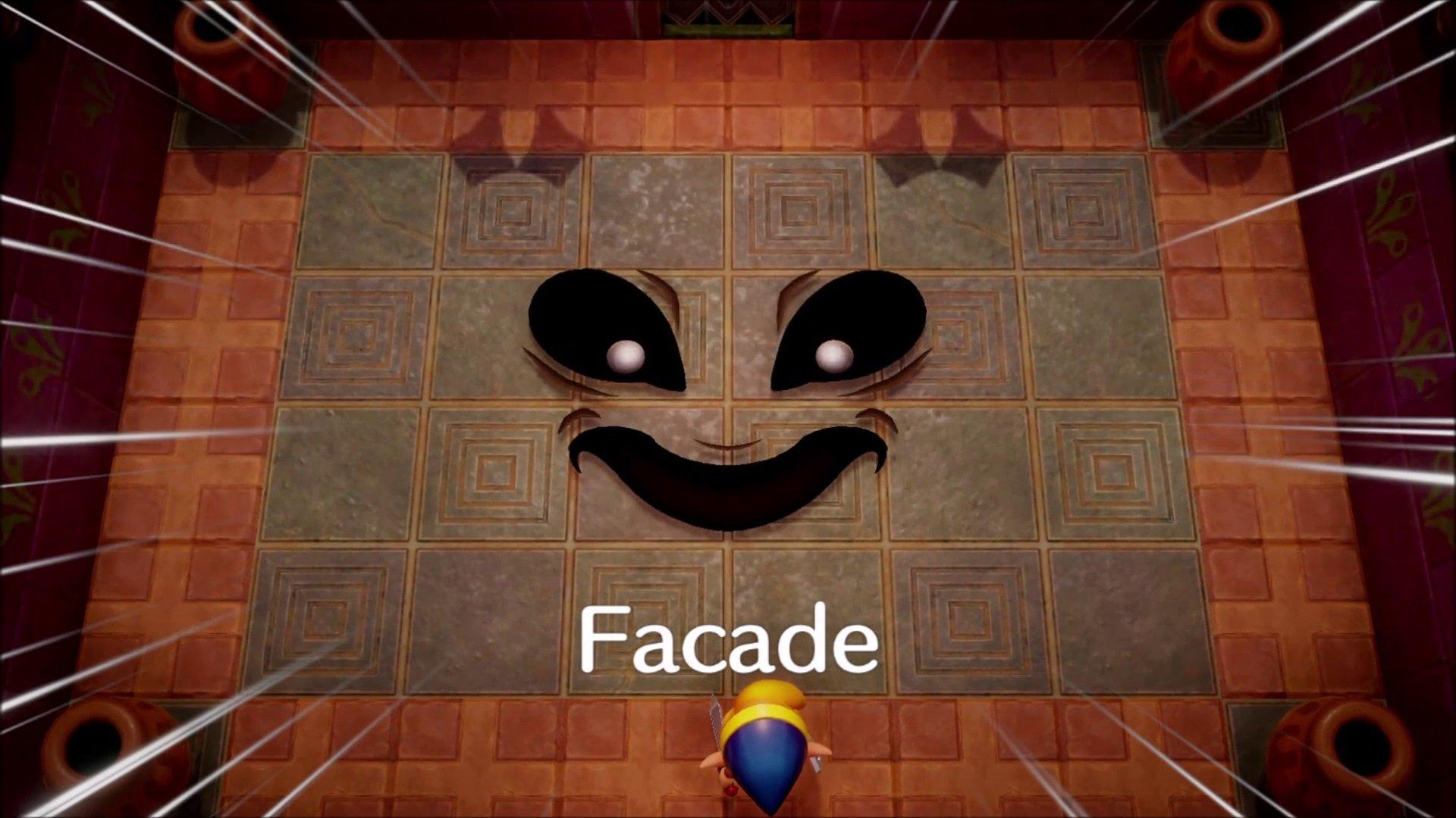 Wie man Facade - Link's Awakening besiegt