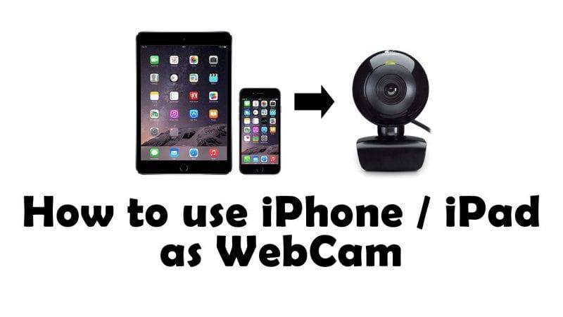 1 Wie Man Das Iphone Als Webcam Benutzt 5 Beste Methoden