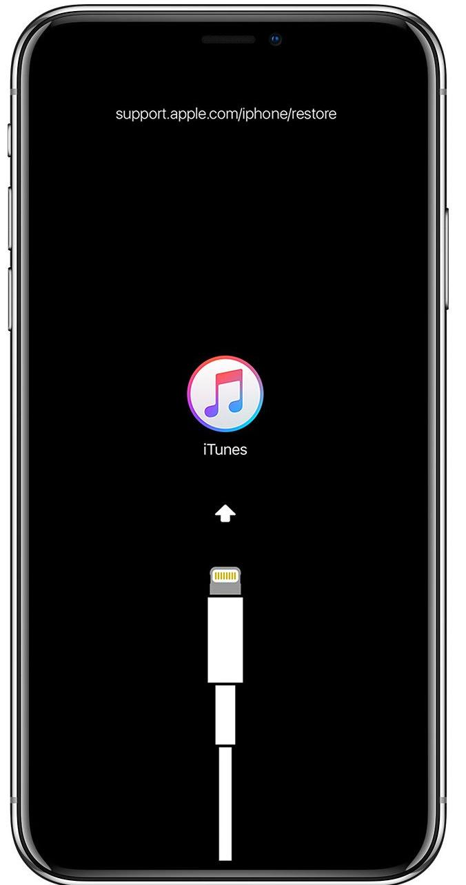 iPhone im Wiederherstellungsmodus und wiederherstellen
