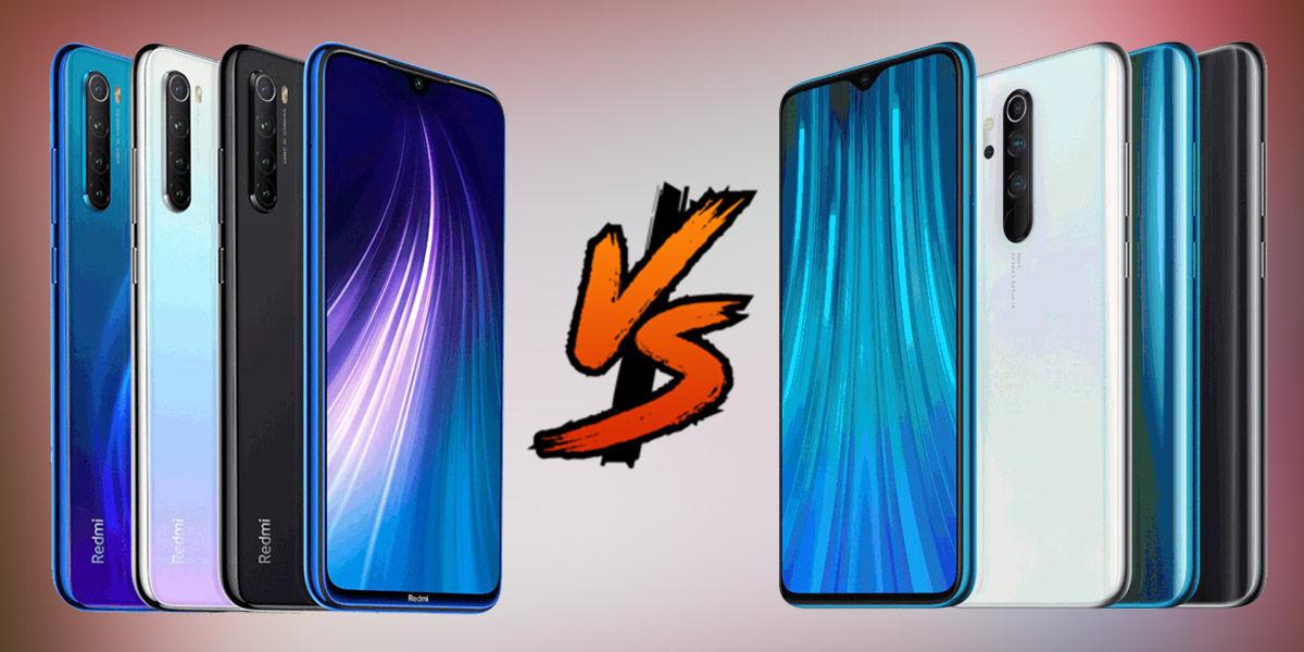 Xiaomi Redmi Note 8 vs Note 8 Pro Vergleichende Unterschiede