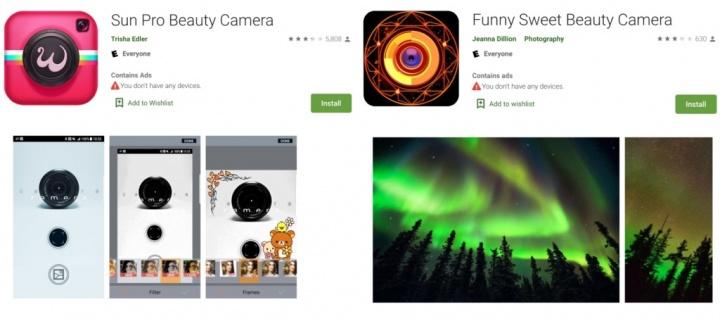 Lustige süße Schönheit Selfie Kamera Sun Pro Beauty Camera Google Play Store