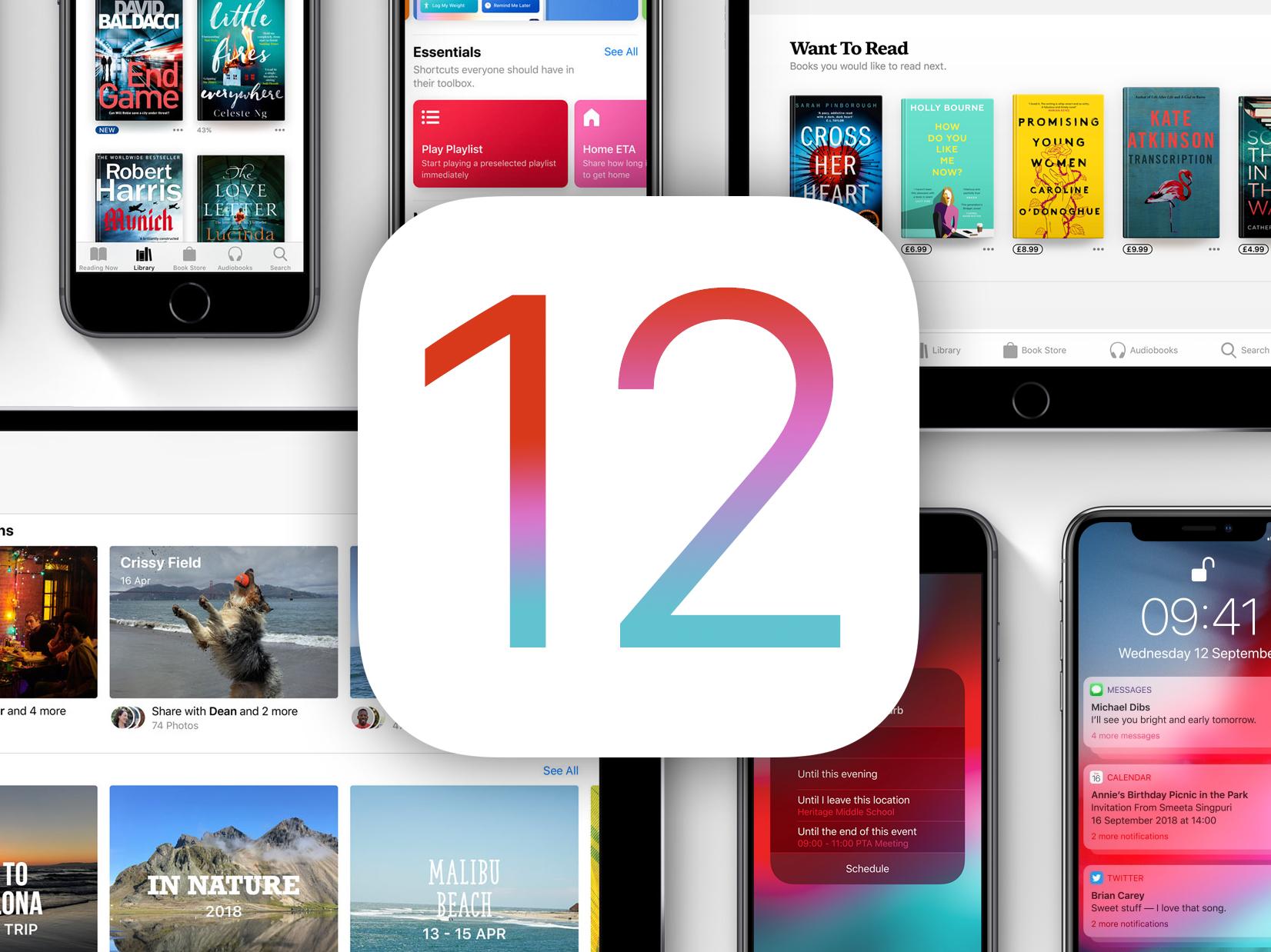 iOS 12 Überprüfung 1