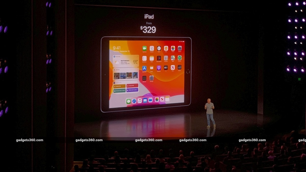 iPad (10.2-Inch) Unveiled at iPhone 11 Launch Event: Price in India, Specifications