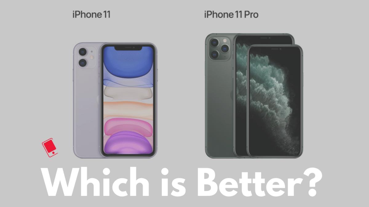 Iphone 11 Und 11 Pro Unterschied