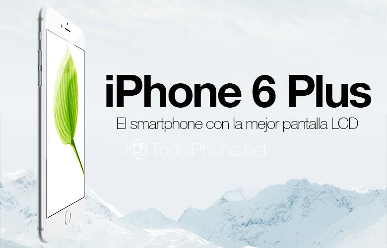 iPhone 6 Plus, smarttelefonen med den beste LCD-skjermen 1