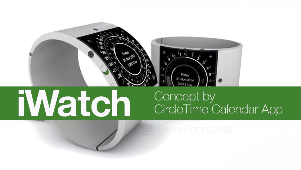 iWatch: Konzept vom Entwickler der Circle Time App 1