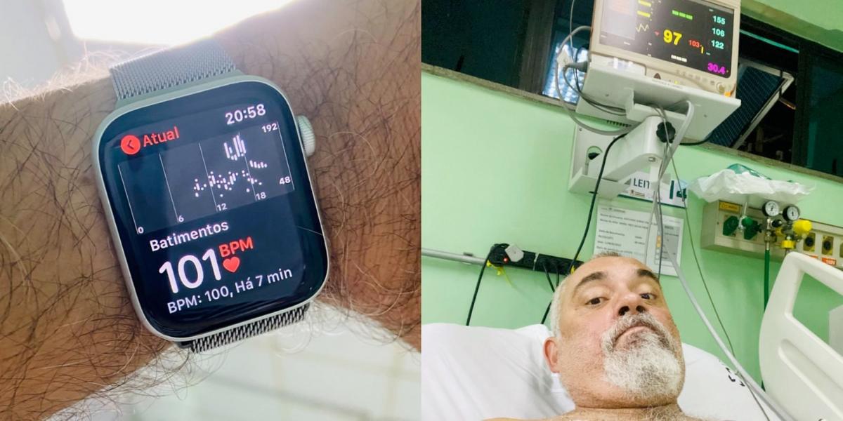 Er Apple Watch verbessert das Leben erneut und warnt einen Brasilianer vor einer Tachykardie