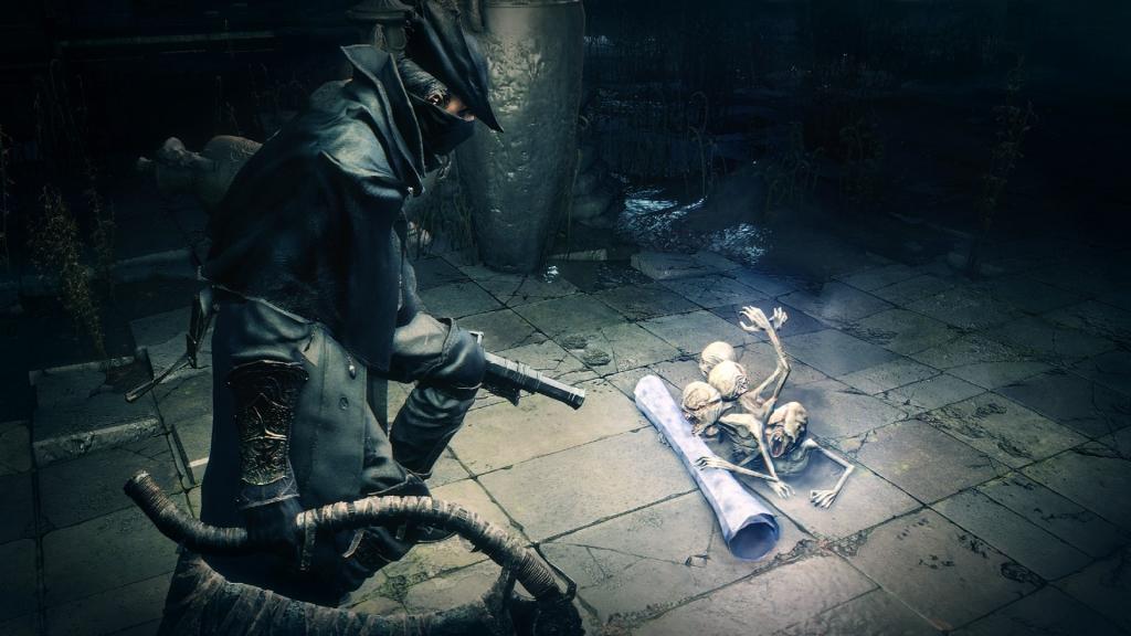 Bloodborne wurde vom selben Team von Dark Souls entwickelt, hat aber seinen eigenen Glanz (Foto: Reproduktion)