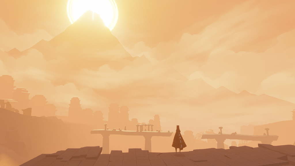 Journey ist ein relativ einfaches und kleines Spiel, das es jedoch schafft, den Spieler auf einzigartige Weise einzubeziehen (Foto: Reproduktion).