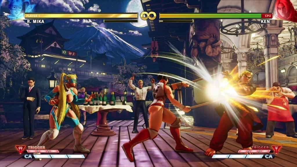 Street Fighter V ist ziemlich traditionell, aber es glänzt genau, um das zu erhalten, was in der Serie gut war, und verfeinert es für eine gute Erfahrung (Foto: Reproduktion)