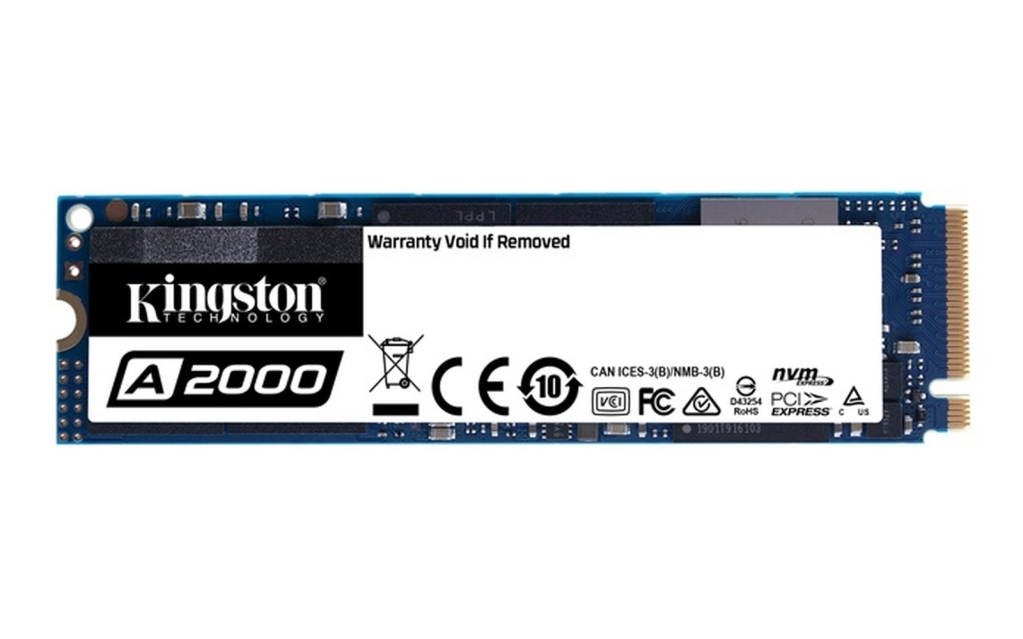 Kingston A2000 1 TB SSD (Wiedergabe: Kingston)