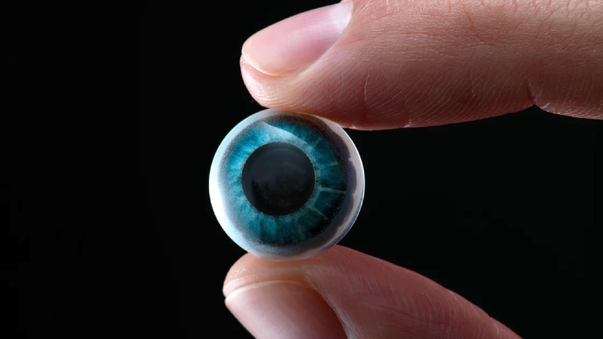 Entdecken Sie Kontaktlinsen, mit denen Sie in Augmented Reality sehen können