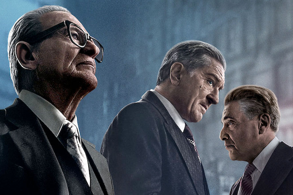 Der Ire von Netflix konkurriert auch um das beste adaptierte Drehbuch