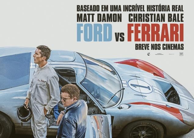 """Ford vs. Ferrari tritt in der Kategorie """"Best Sound Editing"""" an. Andere: Joker, 1917, Es war einmal in ... Hollywood und Star Wars: The Rise Skywalker"""