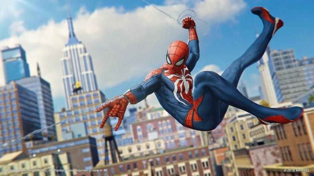 Das Spider-Man-Spiel wurde auf der PlayStation 5-SSD getestet und hatte im Vergleich zur PS4 eine erheblich kürzere Reaktionszeit (Foto: Playback)