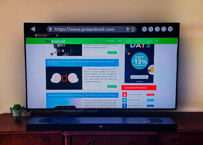 Análisis de la smart TV LG 65SM9010PLA, review y opiniones