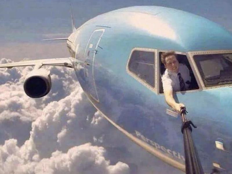 Die gefährlichsten Selfies der Welt - Flugzeug