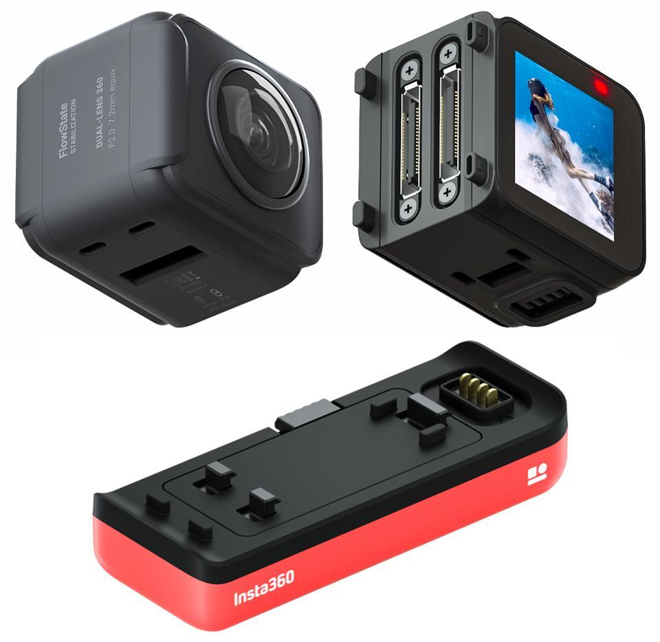 Die Kamera ist sehr anpassbar und alle Teile sind abnehmbar wie in einem Puzzle.