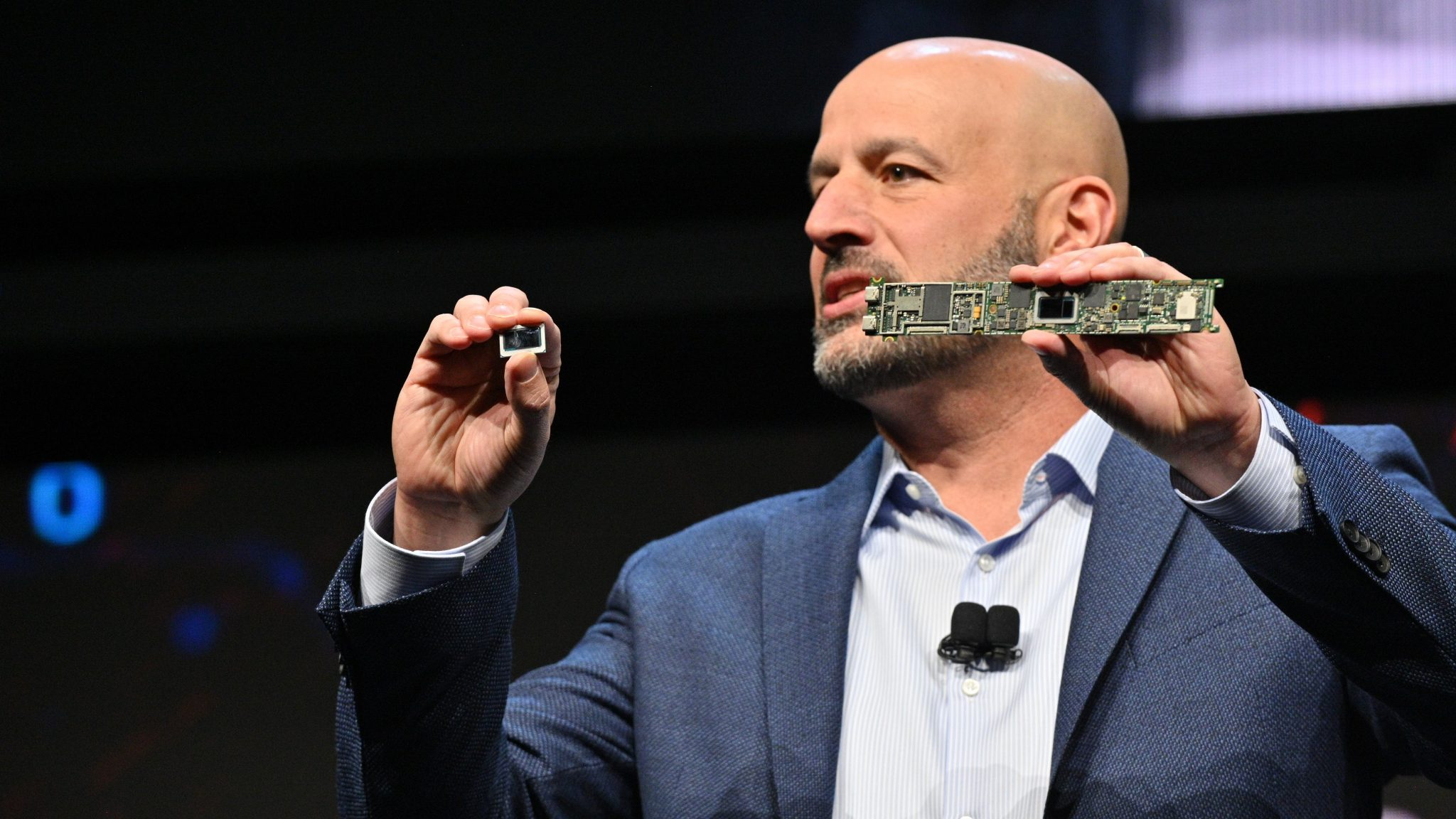 Intel bringt neue Chips, autonomes Fahren und künstliche Intelligenz auf die CES 2020