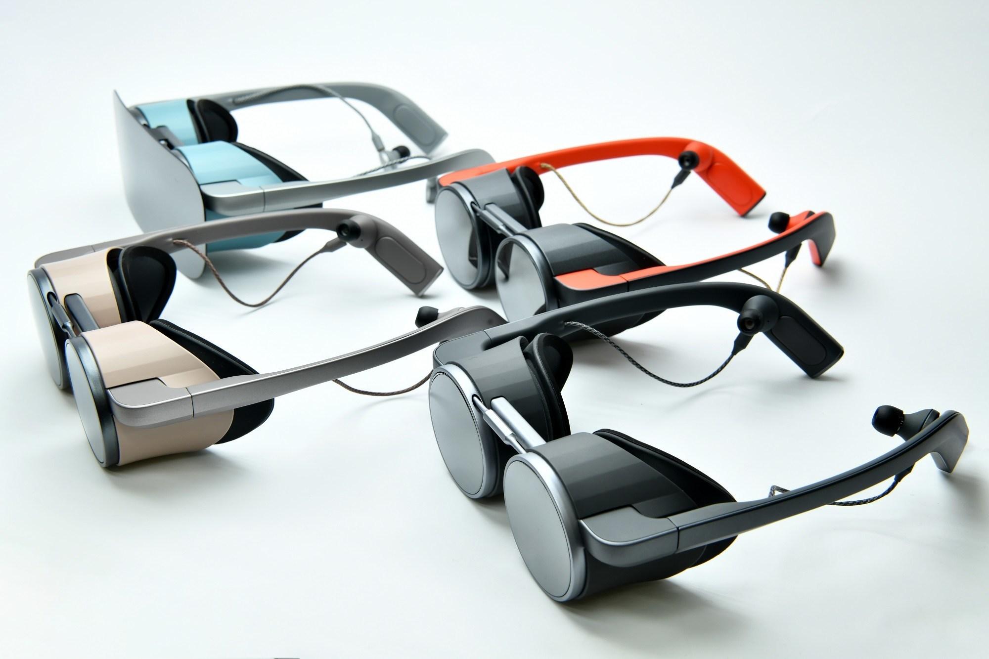 Panasonic enthüllt eine Virtual-Reality-Schutzbrille im Aviator-Stil