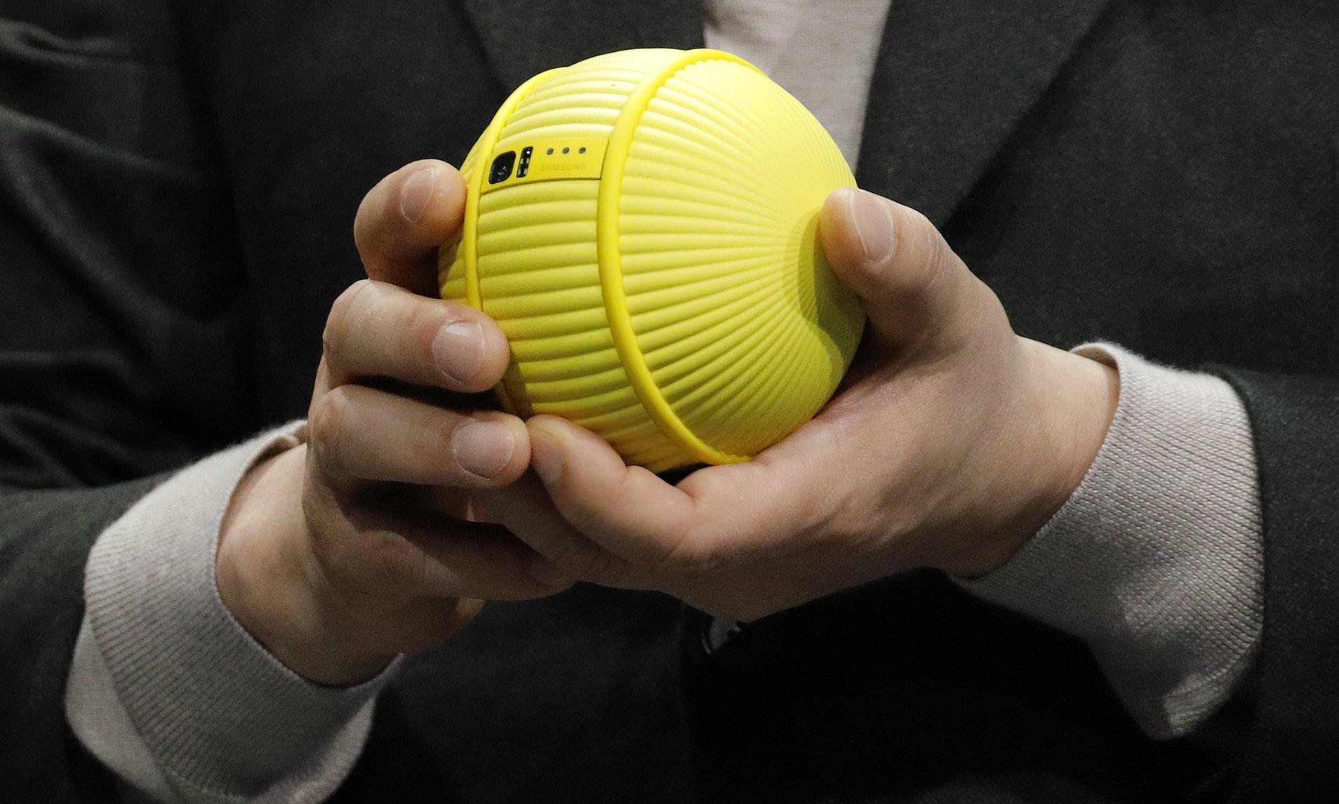 Samsung präsentiert Ballie, einen kugelförmigen Assistentenroboter