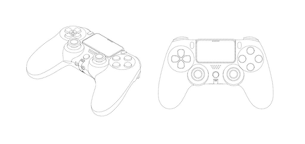 Das DualShock 5-Patent zeigt einen der PS4 sehr ähnlichen Joystick (Foto: Reproduktion)