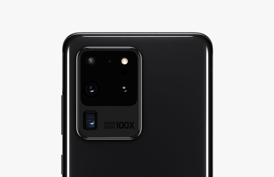 Samsung Galaxy S20 ultra hinten