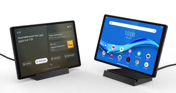 CES 2020: Lenovo stellt Tablet Smart Tab M10 FHD Plus der 2. Generation für 190 US-Dollar vor Google AssistantAuch ein Smart Display 1