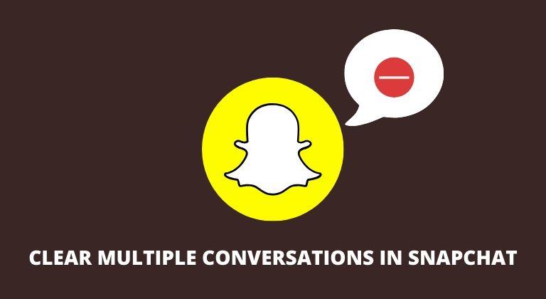 So löschen Sie schnell Gespräche im Snapchat-Feed 1