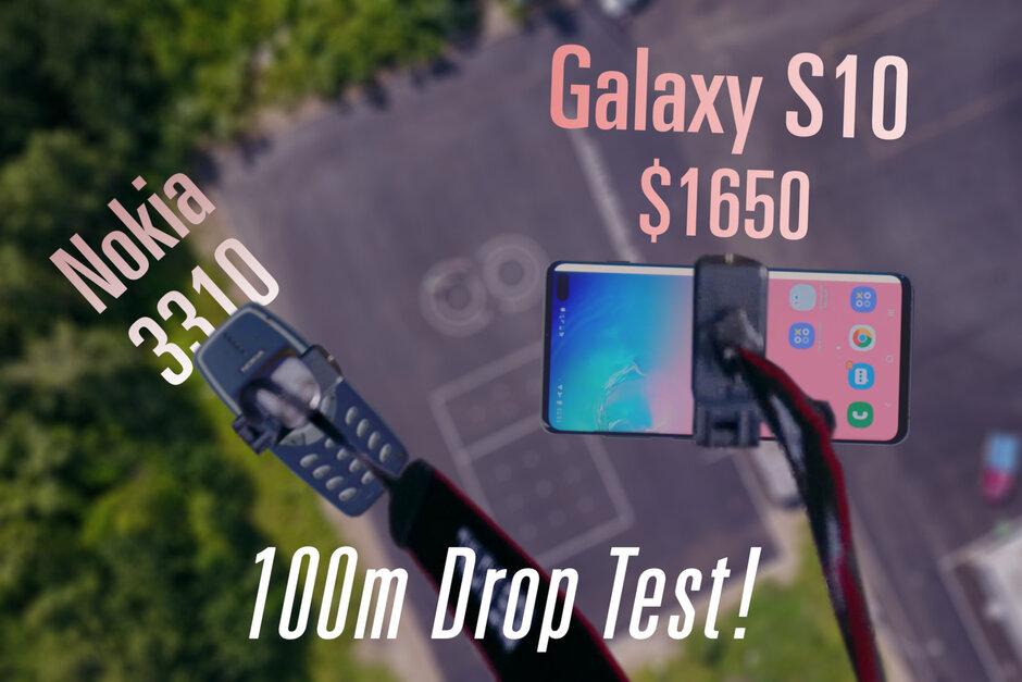 Das hier Galaxy Der Drohnen-Falltest S10 + zeigt, dass Keramik ...