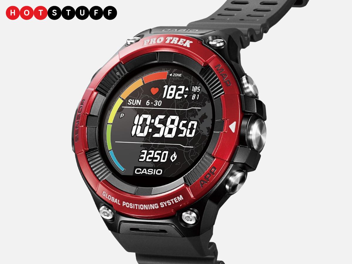 Der Pro Trek WSD-F21HR ist der erste Casio mit einer Tracking-Funktion ...