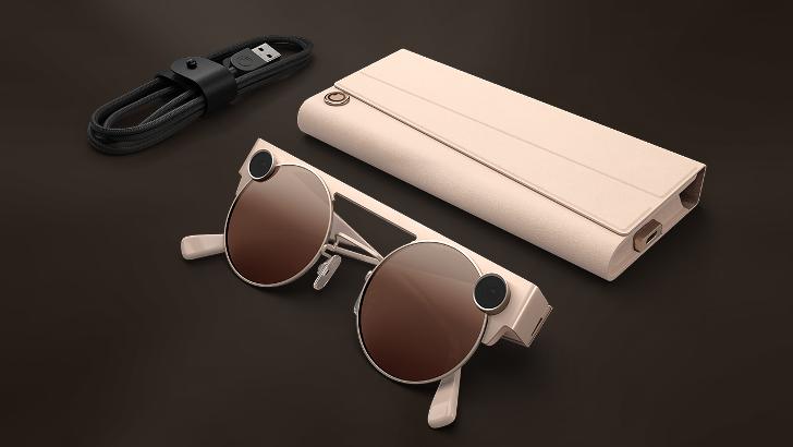 Die neuesten Snap-Brillen kommen diesen Herbst mit einer doppelten 3D-Kamera, der ...