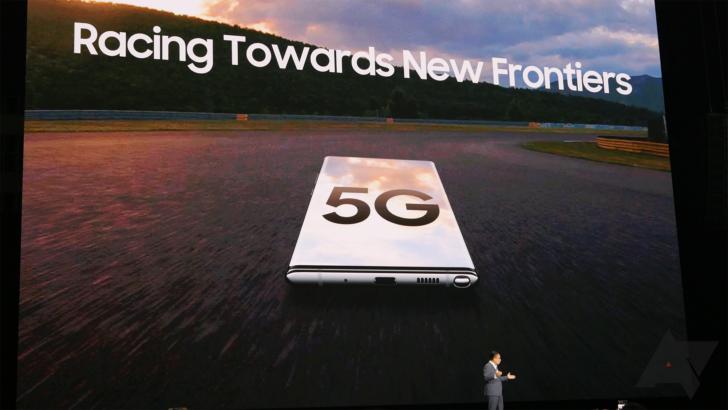 Galaxy A90 hat das Signal durchgesickert, dass 5G-Telefone bald ein ...