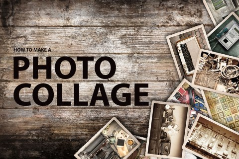 Wie erstelle ich eine Fotocollage?